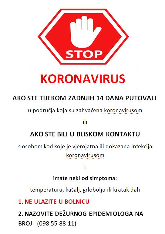 Korona STOP -1